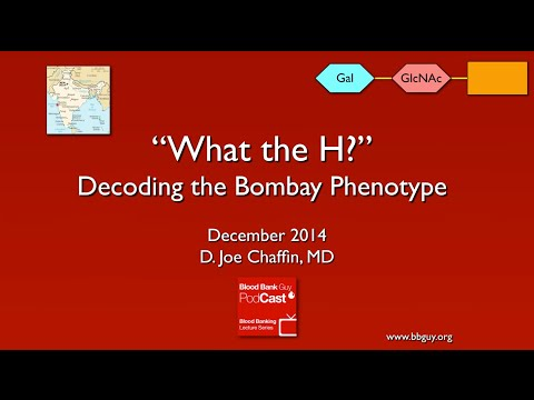 how to detect bombay blood group
