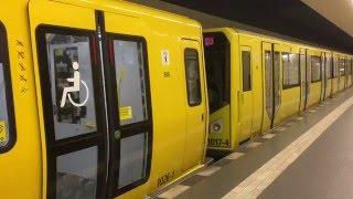 U-Bahn Berlin - Hk und Ik zusammengekuppelt