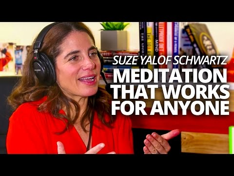 Meditation That Works for Anyone with Suze Yalof Schwartz with Lewis howes