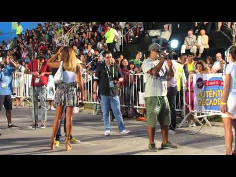 Famosos en Carnaval de Vicente Lopez 2015 ( Ximena Capristo, Floppy Tesouro, Rocio Marengo).
