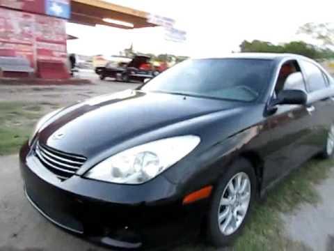 4550AMG 2002 Lexus Es300 Black Vid