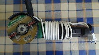 Как заменить питающий кабель болгарки HITACHI G13SE2(Это видео создано с помощью видеоредактора YouTube (http://www.youtube.com/editor), 2014-05-20T08:18:49.000Z)