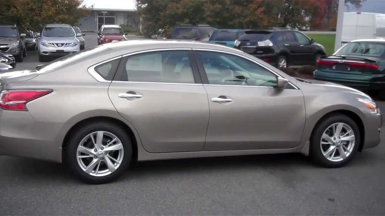 2014 Nissan Altima 2 5 Sv Youtube