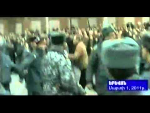 2011. Marti 1, Miting -konflikt