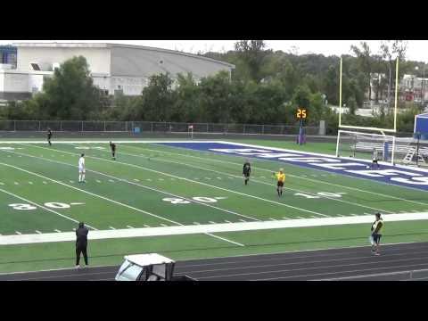 MCHS Boys Soccer vs Columbia, IL 10-03-14 (second half)