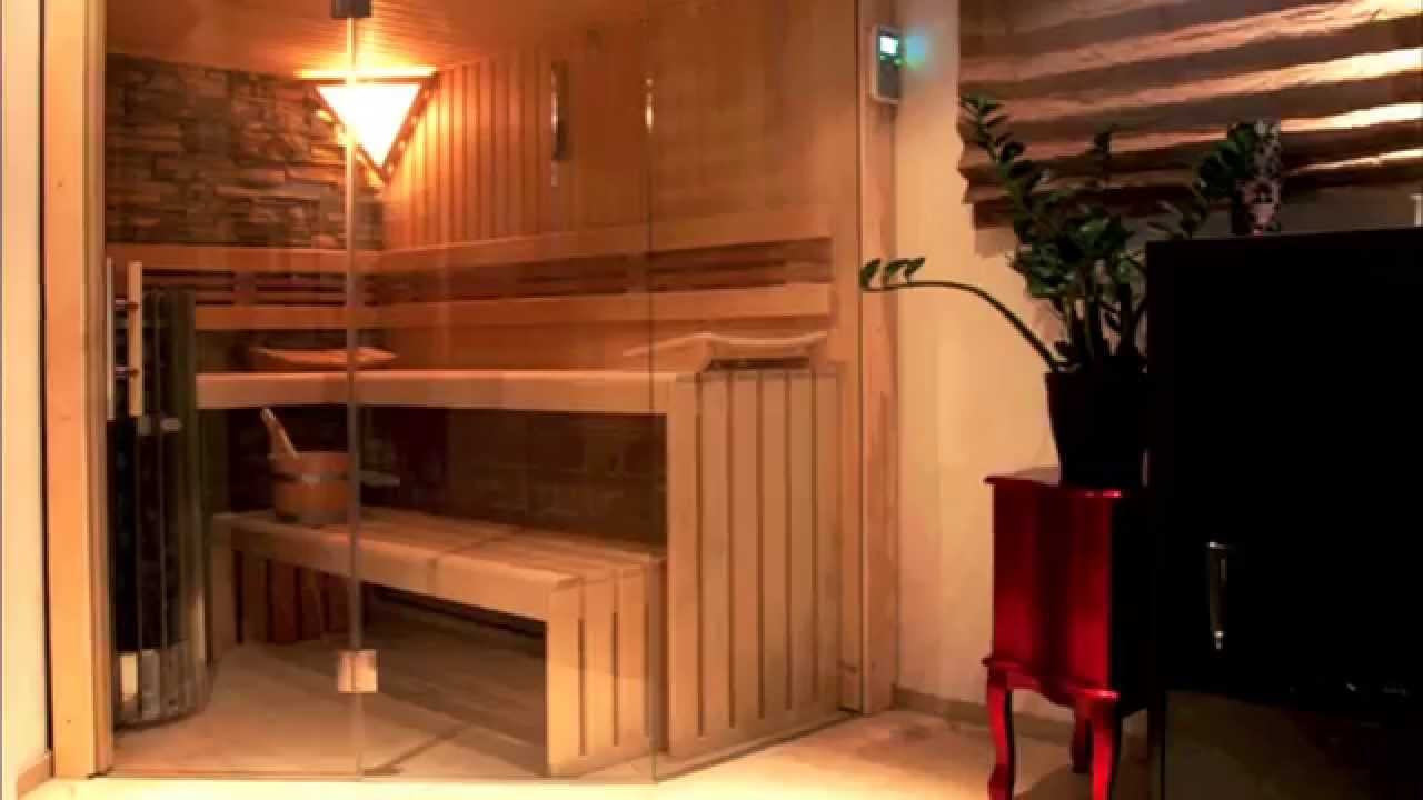 design sauna f r zuhause individuell geplant youtube. Black Bedroom Furniture Sets. Home Design Ideas