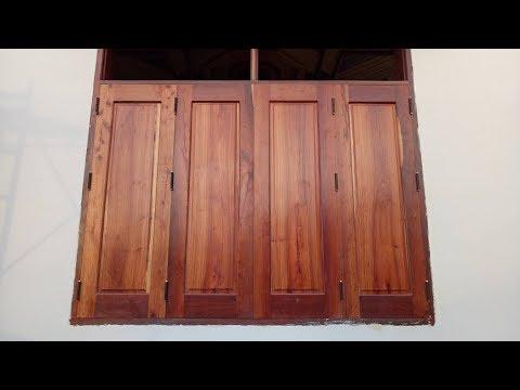 Modern Woodworking - Building a Wood Front Door, How To