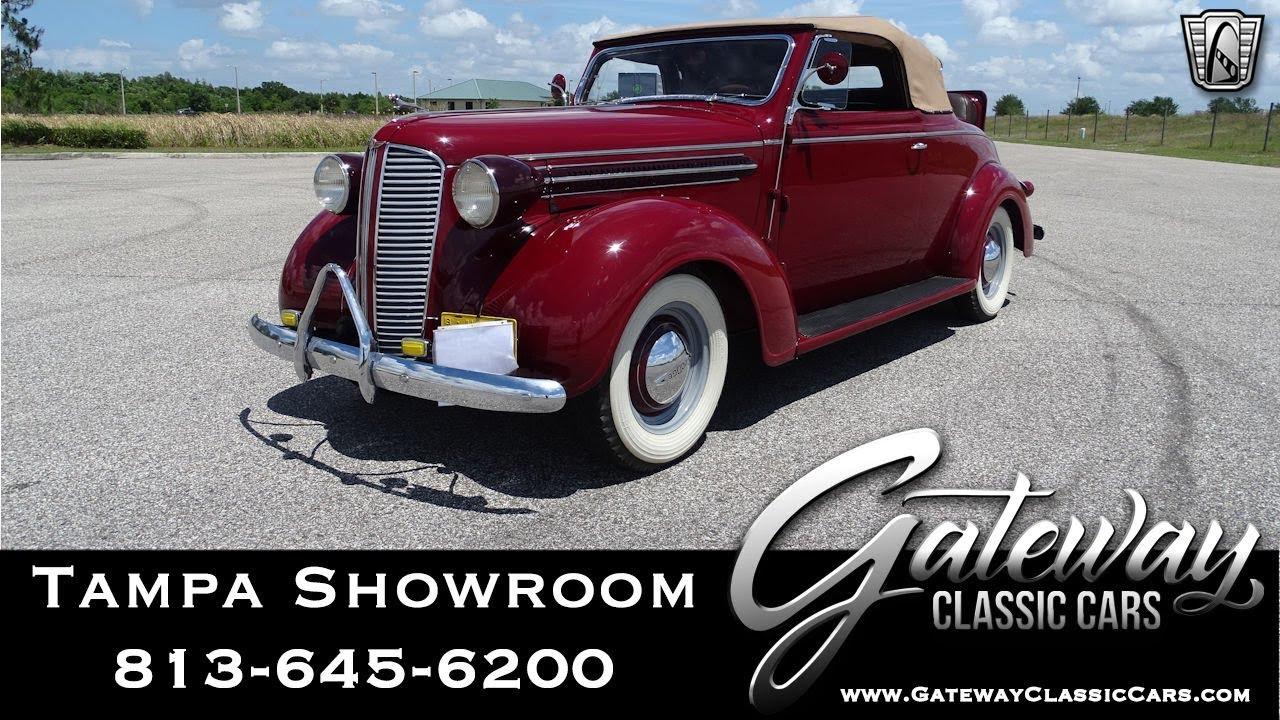 1937 Dodge D5- Gateway Classic Cars Tampa #1504