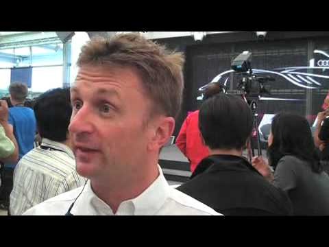 Le Mans: Allan McNish on the Audi R15 TDI