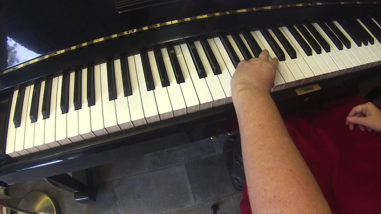 F major arpeggio on piano 2 octaves slow with left hand youtube f major arpeggio on piano 2 octaves slow with left hand hexwebz Images