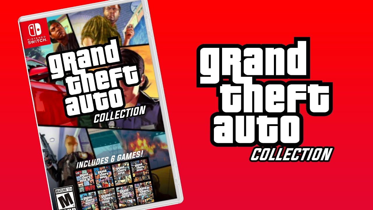 Grand Theft Auto The Collection Nintendo Switch Youtube
