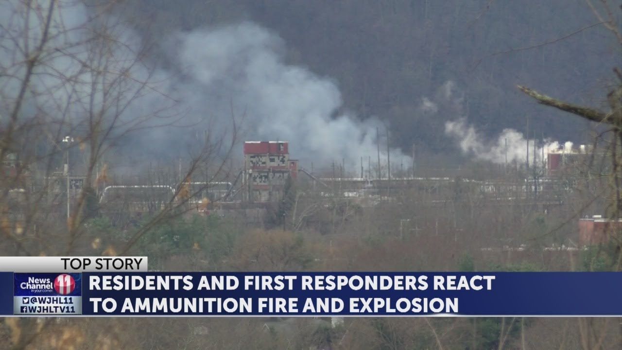 Portions of Holston Army Ammunition Plant operational following fire,  explosion