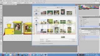 Урок Adobe Photoshop.Фото в рамке.