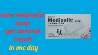 Cover images Medisalic Soap Review In Hindi | For instant beauty and fair skin