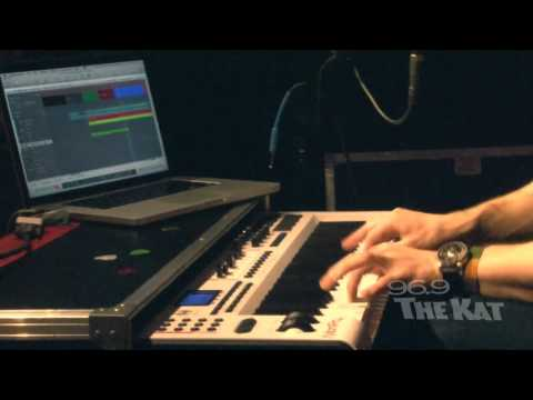 Hunter Hayes - Recording and mixing Storm Warning (96.9 The Kat Exclusive Performance)