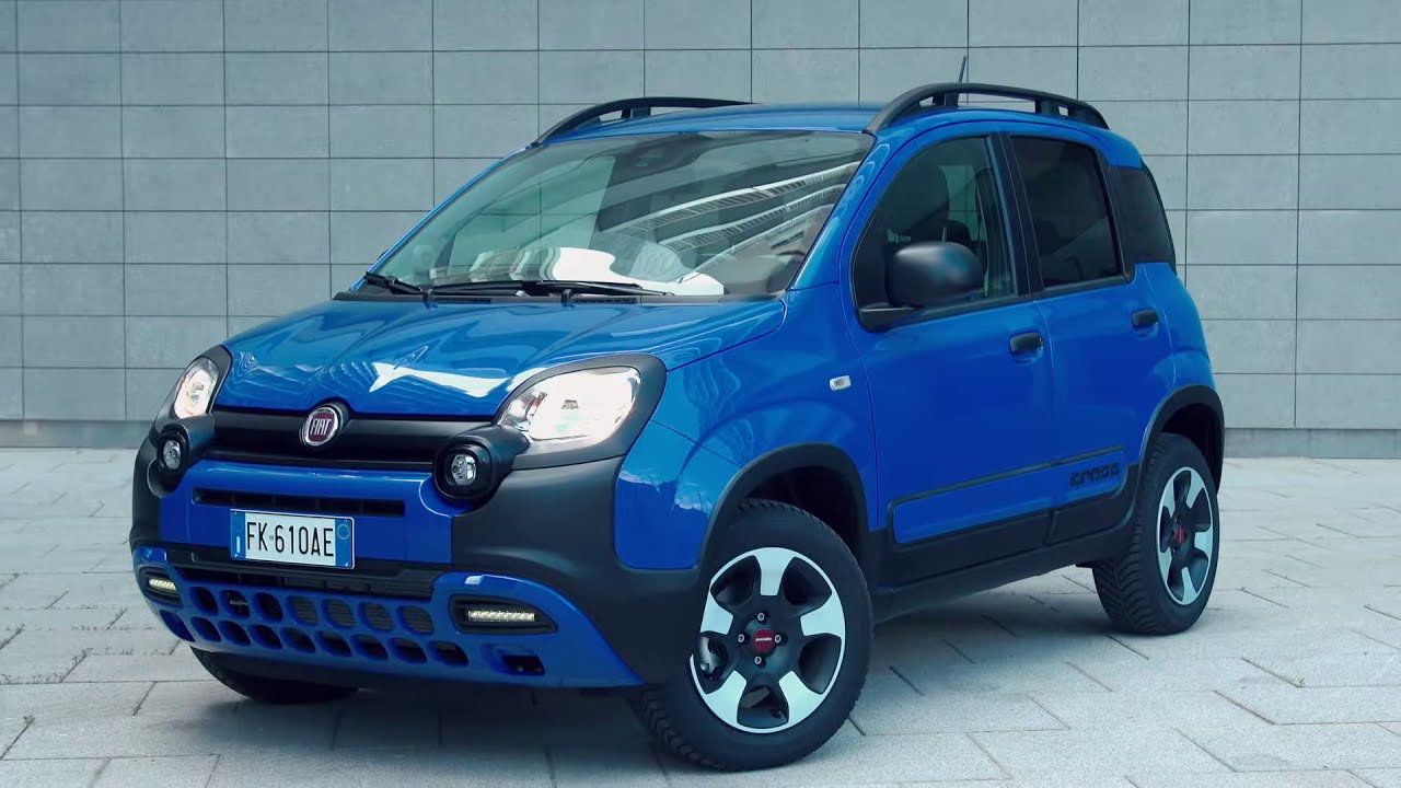 new fiat panda city cross in blue automototv youtube. Black Bedroom Furniture Sets. Home Design Ideas