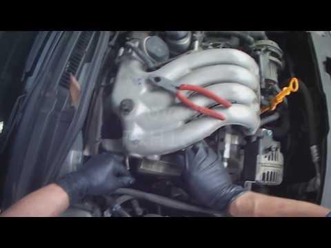 VW A4: 2.0L Water Pump Removal