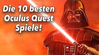 Die 10 besten Oculus Quest Spiele - Das lohnt sich wirklich!