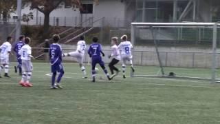 U12 Jhg2005 TSV SCHOTT Mainz - FSV Frankfurt; Testspiel in Mainz 12.11.2016