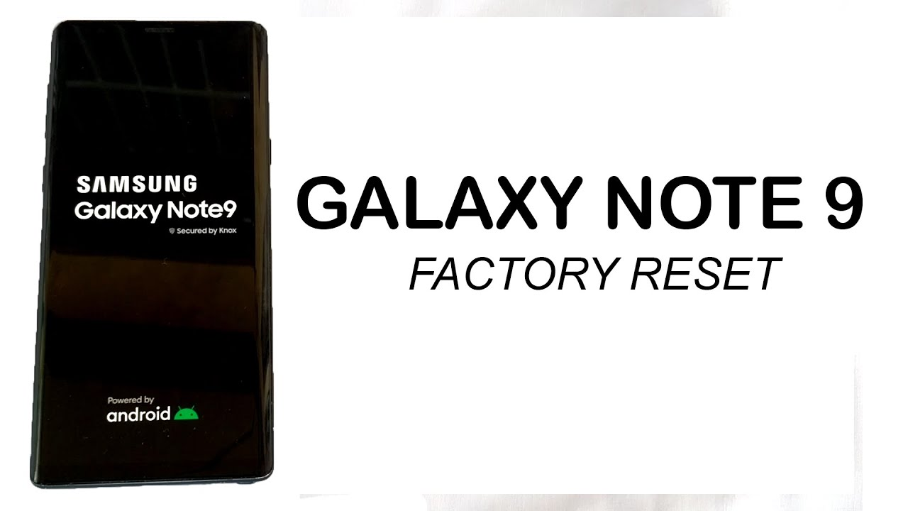 SAMSUNG GALAXY NOTE 22 (SM-N2260F/DS) Factory Reset
