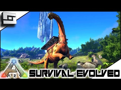 ARK: Survival Evolved - TITANOSAUR TAMING FAIL!