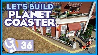 🍽 Parisian Restaurant   Let's Build Planet Coaster #36