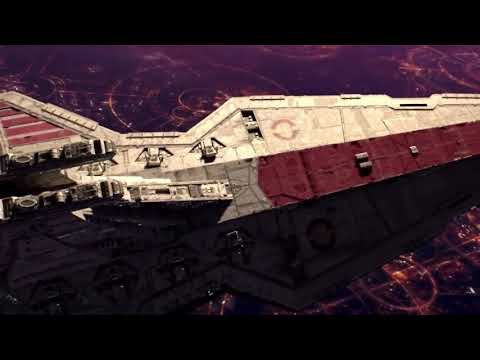 Battle over Coruscant opening!