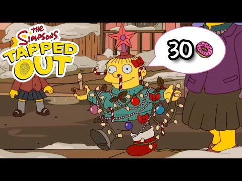 The Simpsons: Tapped Out - Christmas Tree Ralph - Premium Character Walkthroughs