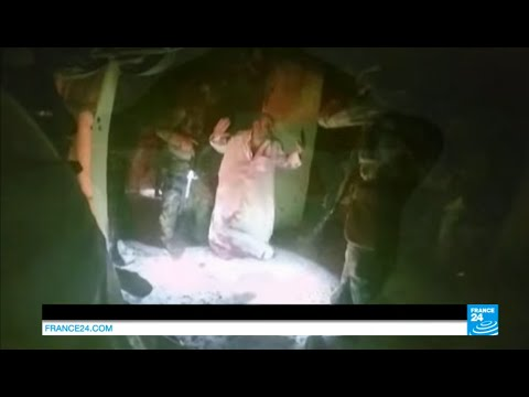 Iraq: video of US raid on Islamic state group jihadists-run prison