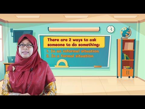 "Video Pembelajaran Kelas 4 Bahasa Inggris Materi ""Expressions to…"