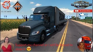 American Truck Simulator (1.37 Beta)   International LT v1.6 fix by Galimin Road to Yuma Arizona DLC by SCS Software PaZzMod V 1.1.12 Rebuilds/Expansions in Southern CA & AZ Trailer Jazzycat FMOD ON and Open Windows Project Next-Gen Graphics USA + DLC's &