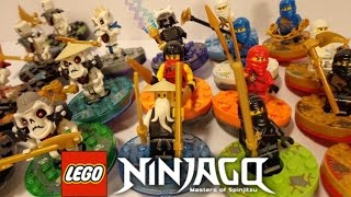 Complete LEGO NINJAGO Spinner Collection from 2011!
