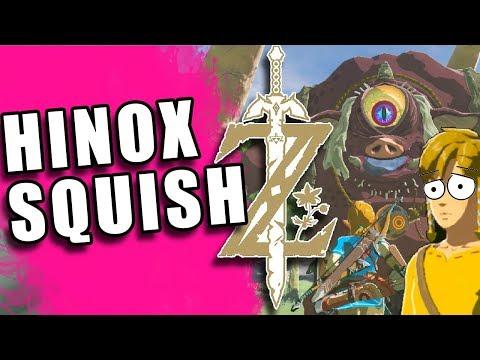 LINK GETS HINOX'D | ZELDA Breath of the Wild | The Basement | Part 96