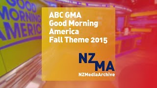 ABC Good Morning America - Fall Theme 2015