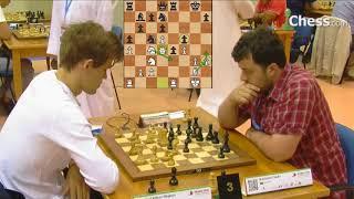 Carlsen - Guseinov   2014 Dünya Yıldırım Satranç Şampiyonası Oyun Analizi