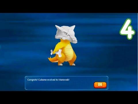 Pocket House 3D (Monster King 3D) - MAROWAK EVOLUTION + TEAM TEST!