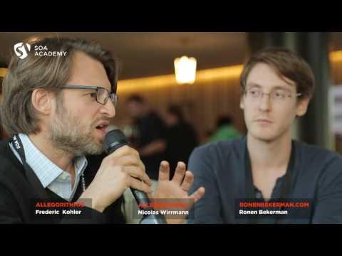 SOA #AcademyDay7: interview with Frederic Kohler & Nicolas Wirrmann, Allegorithmic
