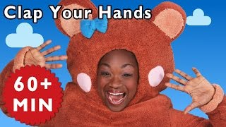 Clap Your Hands and More | Nursery Rhymes from Mother Goose Club!