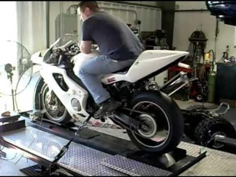 Honda Cbr F4i Track Bike Dyno Youtube