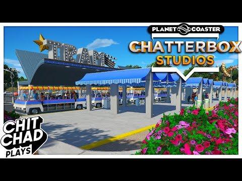 Chatterbox Studios   Parking Lot Tram - Planet Coaster  