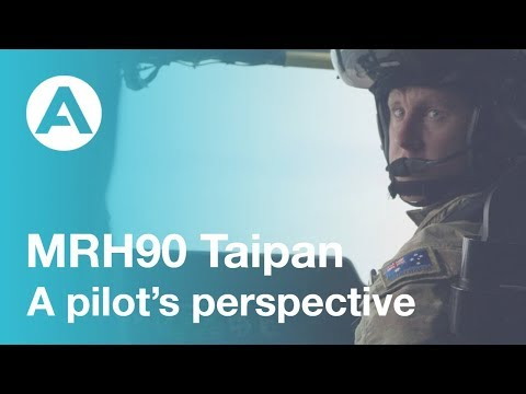 MRH90 Taipan - a pilots perspective