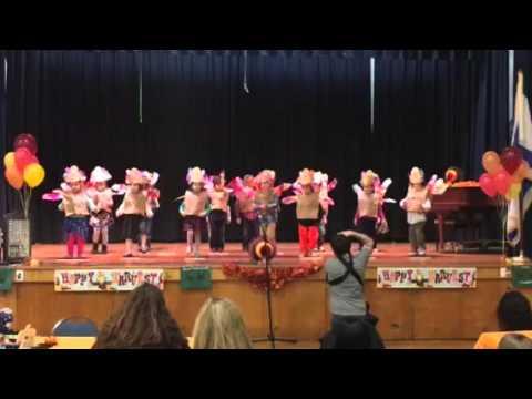 AJCC Preschool Thanksgiving Celebration  2015