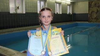 СОРЕВНОВАНИЯ по плаванию в детском бассейне - Vlog Swimming competition in the pool 04/03/2016