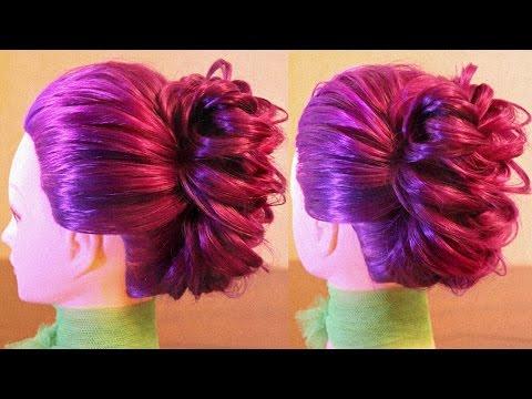 Простая причёска из колоска - Hairstyles by REM