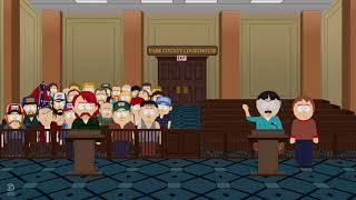 South Park White People Renovating House Confederate Flag Bee in Courtroom GIF