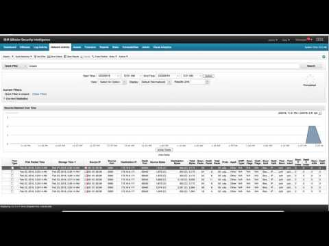 Searches in Qradar - YouTube