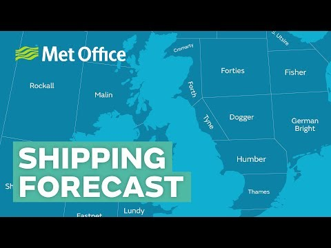 What is the shipping forecast and how does it work?