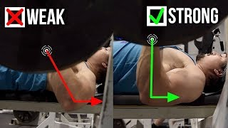 WHY Your Bench Press Is Weak (Fix Your Elbows)