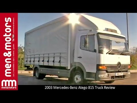 2003 mercedes-benz atego 815 truck review - youtube  youtube