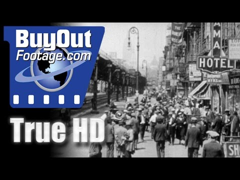 New York, The Wonder City 1945 Historic HD Footage